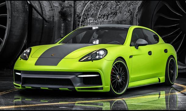 Porsche Panamera Tuning Regula Exclusive Leistungssteigerung Bodykit