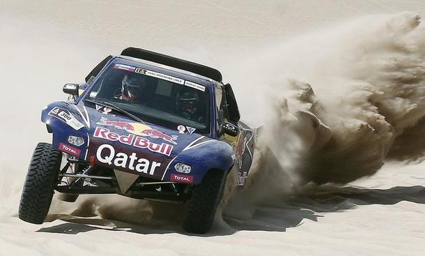 Rallye Dakar 2013 Tag 6 Nasser Al-Attiyah Tagessieg Stephane Peterhansel Carlos Sainz