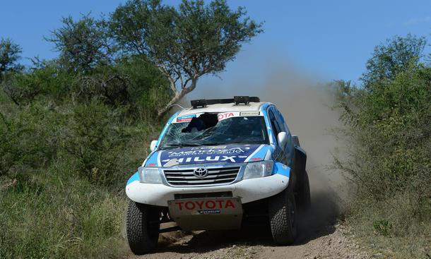 Rallye Dakar 2013 Tag 9 Argentinien Cordoba