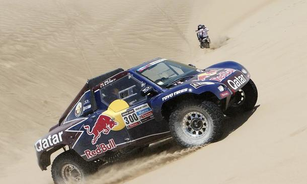 Rallye Dakar 2013 Tag 3 Etappe Nasser Al-Attiyah Motorsport Red Bull
