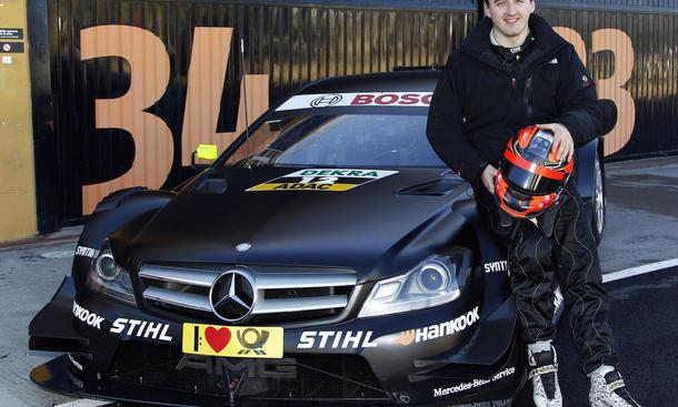 Robert Kubica DTM Mercedes 2013 Testfahrten Test Comeback