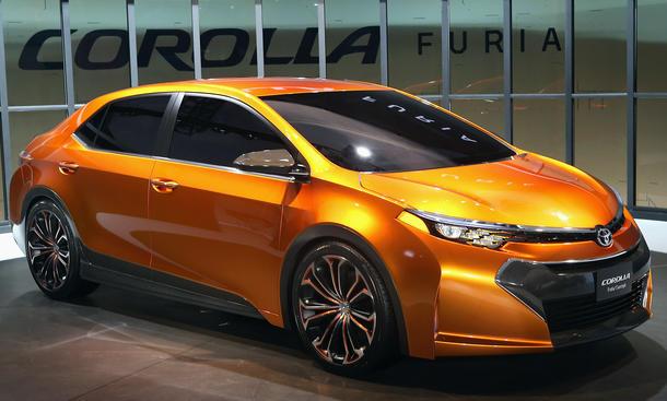 Toyota Corolla Furia Concept Detroit Auto Show 2013 Studie