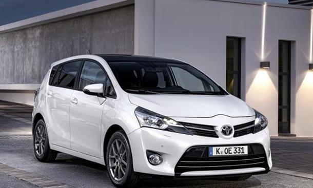 Toyota Verso 2013 Preis Facelift Van Preis
