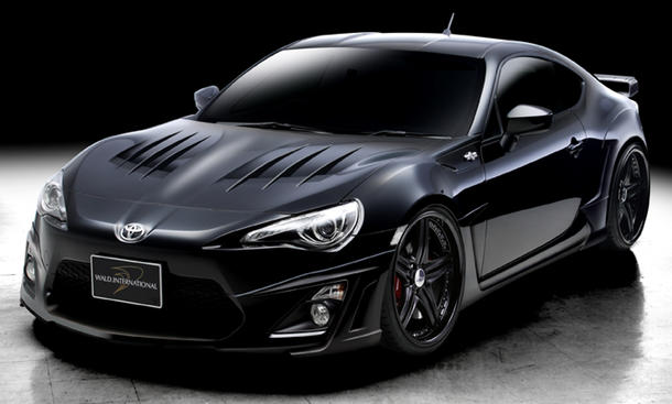 toyota gt86 tuning massives bodykit von wald international. Black Bedroom Furniture Sets. Home Design Ideas