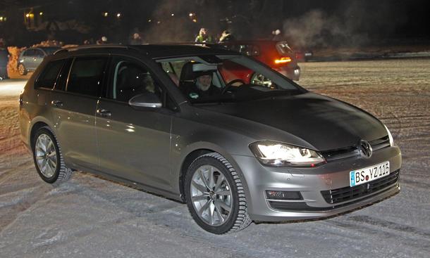 VW Golf VII Variant 2013 Fahrbericht Kombi Kompaktklasse Preis