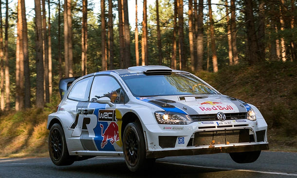 VW Polo R WRC Rallye Monte Carlo Werksteam