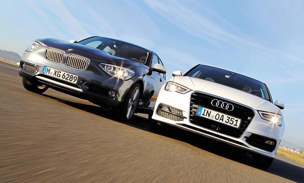 Vergleich Audi A3 2.0 TDI BMW 118d Kompaktklasse