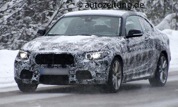 BMW 2er Coupé 2014 Erlkönig M235i F22 Kompaktsportler