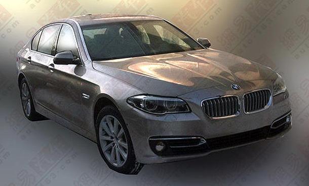 BMW 5er Facelift 2013 F10 LCI Front Heck Foto Leak