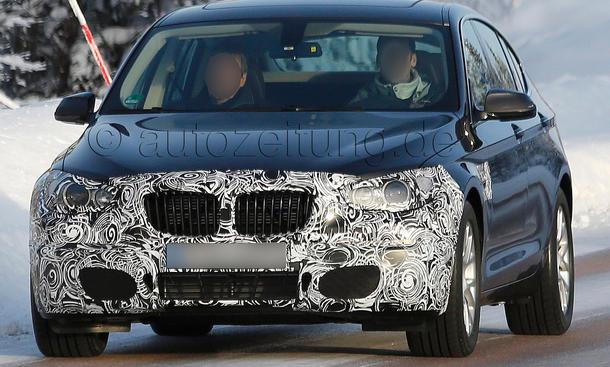 BMW 5er GT Facelift 2013 Erlkoenig F07 LCI Gran Turismo