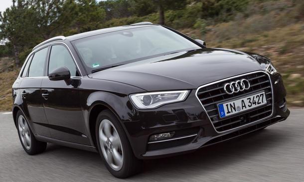 Bilder Audi A3 Sportback 2.0 TDI 2013 Vergleich