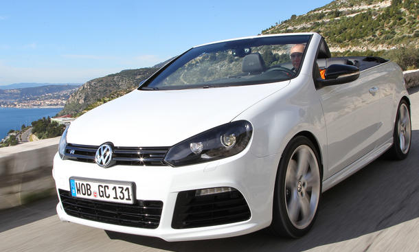 Bilder VW Golf R Cabrio 2013 Fahrbericht