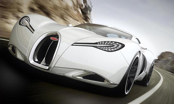 Bugatti Gangloff Concept Pawel Czyzewski Supersportwagen Photoshop Veyron