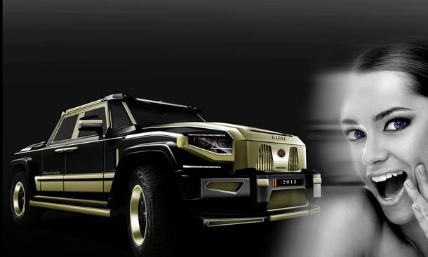 Dartz Black Snake Edition Tuning SUV China Schlangen-Leder