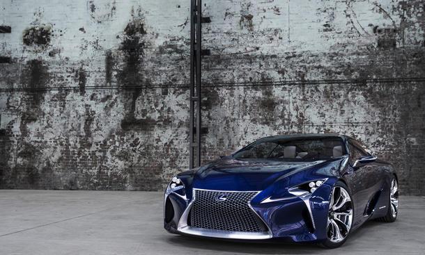 Lexus Auto Salon Genf 2013 IS 300h Hybrid Studie LF-LC Premieren