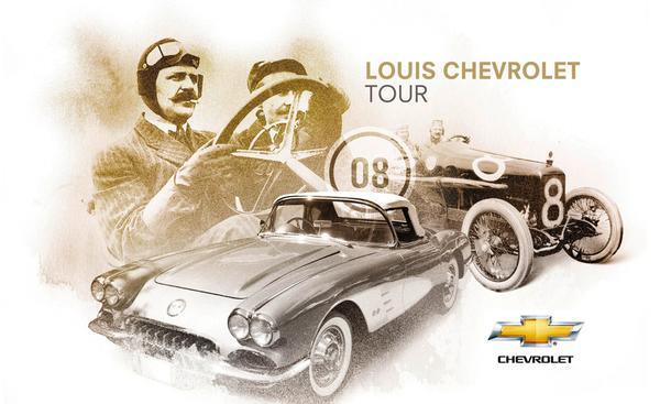 Louis Chevrolet Tour 2013 Rallye Oldtimer Anmeldung