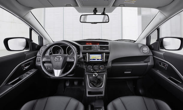 mazda 5 facelift 2013 preis f r den kompaktvan bild 4. Black Bedroom Furniture Sets. Home Design Ideas