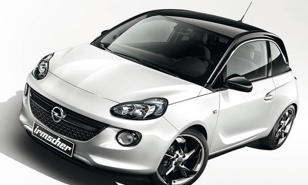 Opel Adam Tuning Irmscher Genfer Autosalon