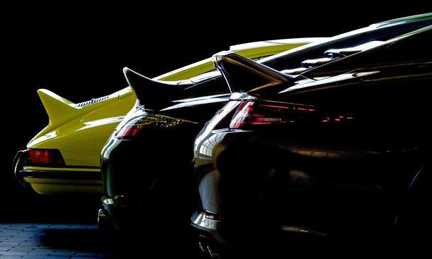 Porsche 911 50 Jahre IAA 2013 Sondermodell Enten-Bürzel Jubiläum