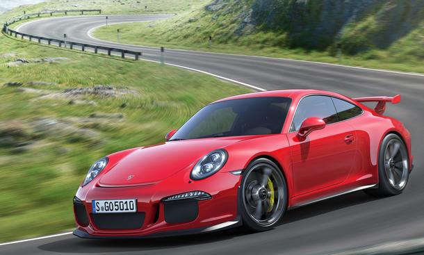 Porsche 911 GT3 991 Genfer Autosalon 2013 475 PS Supersportler