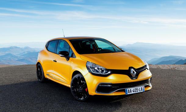 Renault Clio RS 2013 Sportversion Preis vierte Generation Vierte Generation