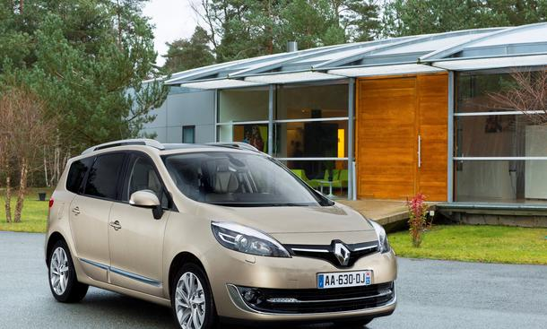 Renault Scenic Facelift Grand Scenic Kompakt-Van Xmod Offroad-Version Genfer Autosalon