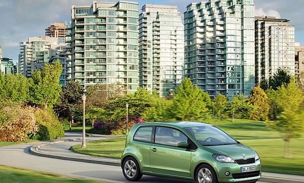 Skoda Citigo CNG Erdgas Preis Green tec Erdgas-Auto Kleinwagen