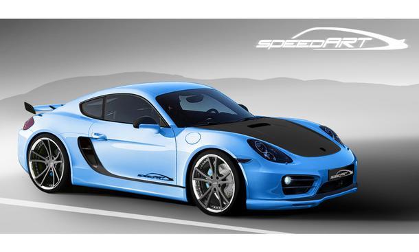 Porsche Cayman S Tuning SpeedArt SP81-CR Leistungssteigerung Front