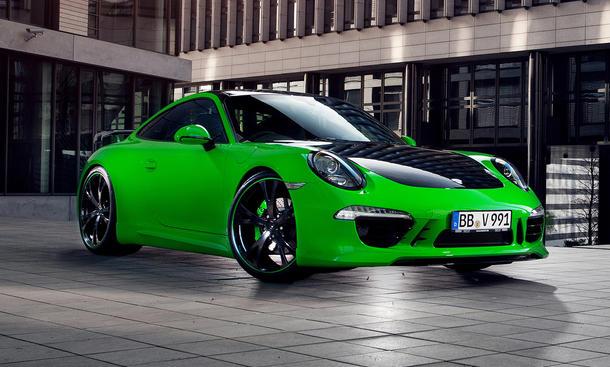 Techart Porsche 911 Carrera 4S Cayenne Diesel S Tuning Genfer Autosalon 2013