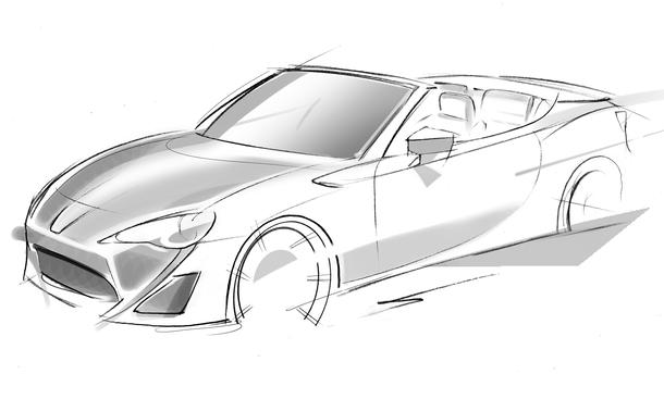 Toyota GT 86 Cabrio Genfer Autosalon 2013 FT 86 Open Concept