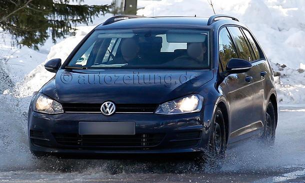VW Golf VII Variant 2013 Fahrbericht Erlkoenig Kombi