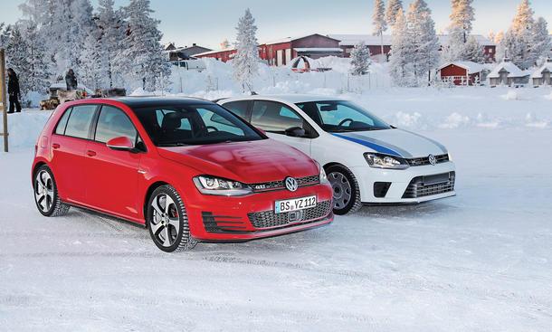 VW Polo R WRC Golf 7 GTI 2013 Vergleich Polarkreis