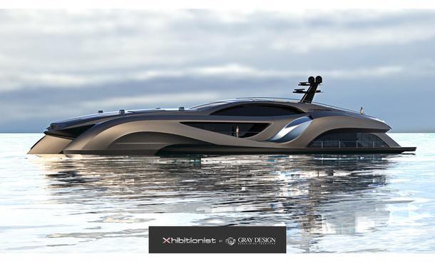 Xhibitionist Yacht Eduard Gray Sportwagen Design Seite