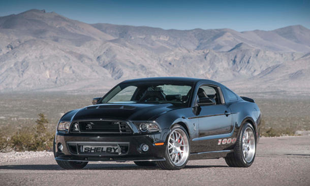 Ford Shelby Mustang 1000 S/C 2013 New York Auto Show