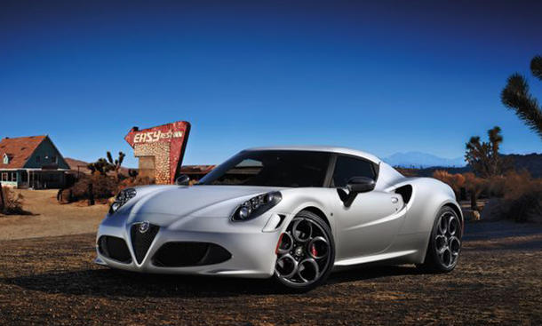 Alfa Romeo 4C Launch Edition Genfer Autosalon 2013 Limitierte Auflage