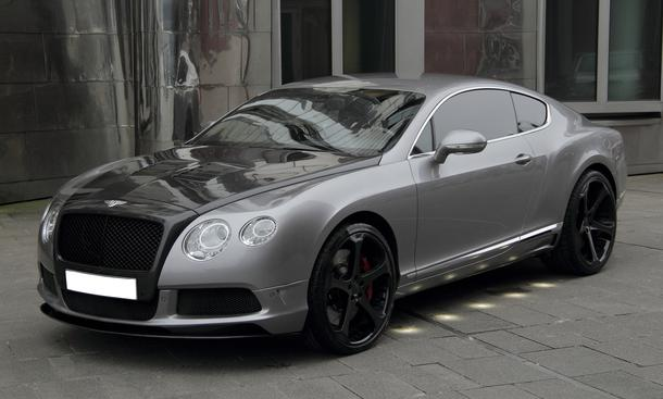 Anderson Bentley Continental GT 2013 Tuning Leistungsteigerung Carbon Body-Kit Front