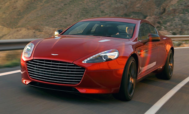 viertüriges Coupé Power Aston Martin Rapide S