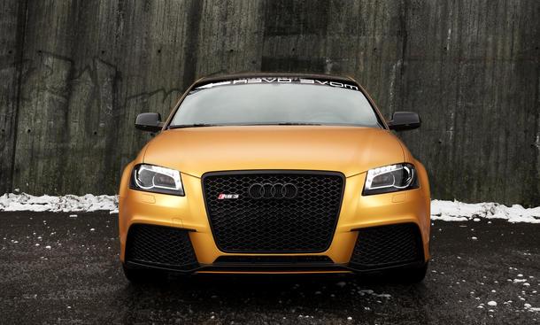 Audi RS3 Schwabenfolia Tuning Leistungssteigerung Folierung Gorange