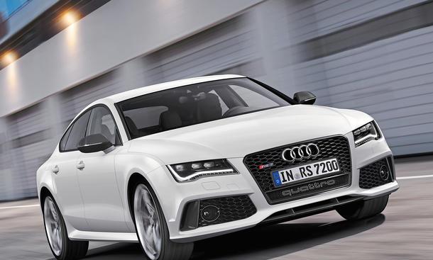 Audi RS 7 Neuheiten Zukunft Ausblick
