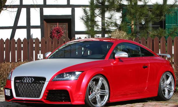 Audi TT RS 2013 Tuning FolienCenter-NRW Folierung Leistungssteigerung