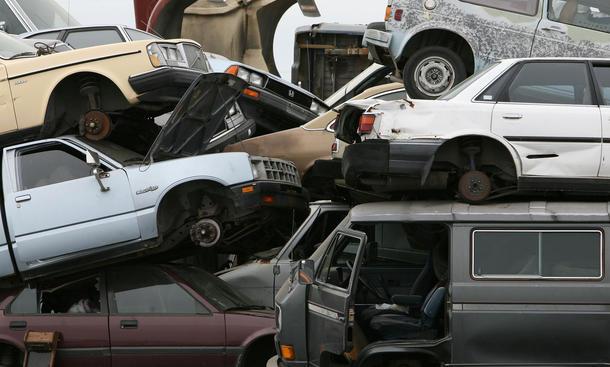 Auto Entsorgung Verwertung Halterwechsel