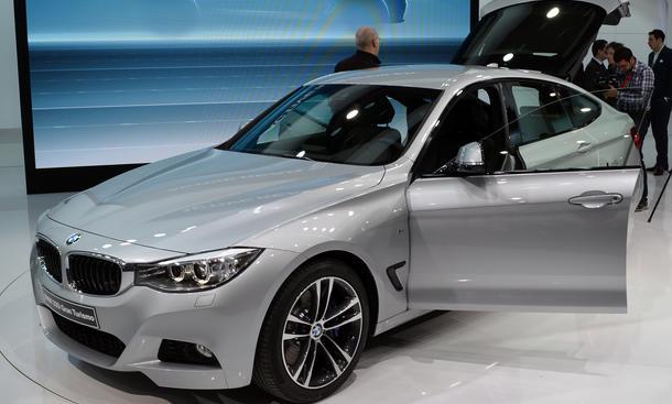 BMW 3er GT F34 M Sportpaket Genfer Autosalon 2013 Live