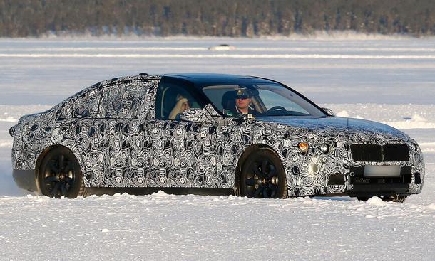 BMW 7er 2015 Erlkoenig Limousine Luxusklasse G01 G11