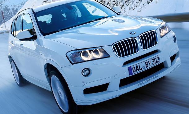 BMW Alpina XD3 Biturbo Genfer Autosalon 2013 X3 Power Kompakt-SUV Diesel