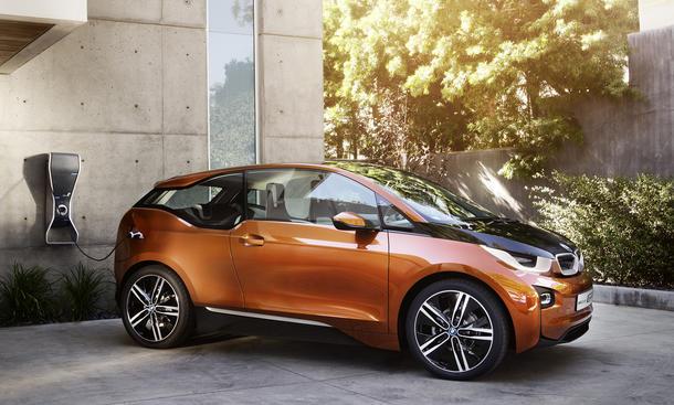 BMW i3 Elektroautos alternative Antriebe Wirtschaft Industrie