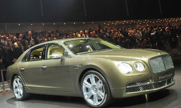 Bentley Flying Spur Genfer Autosalon 2013 Limousine Luxus