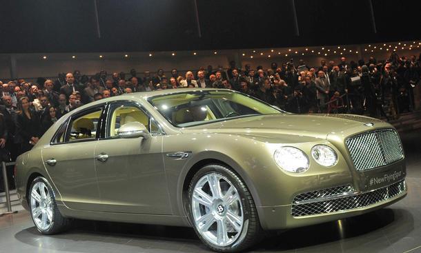Bentley Flying Spur Genfer Autosalon 2013 Limousine Luxus