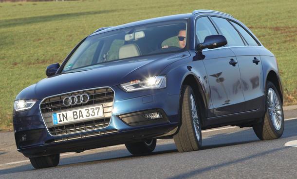 Bilder Audi A4 Avant 2.0 TDI 2013 Mittelklasse Kombi Antrieb Kosten