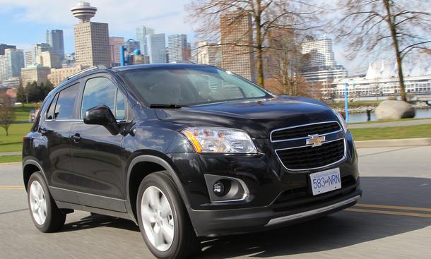 Bilder Chevrolet Trax 1.6 2013 Kompakt SUV