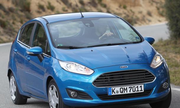 Bilder Ford Fiesta 1.0 EcoBoost 2013 Kleinwagen Test